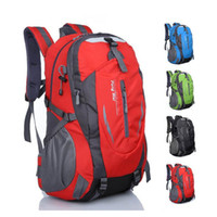 Wholesale Waterproof Canvas Rucksack - New Waterproof Nylon Hiking Backpack Outdoor Sports Bag Rucksack Mountaineering Bag Men's Travel Bags Back pack