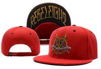 Wholesale Rebel Caps - new popular women men leather luxury snapback custom designer BLACK rebel sports cool baseball cap boy girl strapback hats
