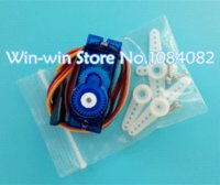 Wholesale Esky Servo - 5pcs lot Tower Pro 9g micro servo for airplane aeroplane 6CH rc helcopter kds esky align helicopter sg90
