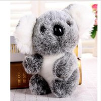Wholesale Cute Koala Bears - Free Shipping 16CM Super Cute Small Koala Bear Plush Toys Adventure Koala Doll Birthday Christmas Gift ST269