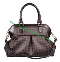 Wholesale Hobo Tote Pattern - Top Grade Canvas Coated Real Leather Lady Handbag Trevvi N51998 N51997 Women Fashion Designer Top Handle Bag 2 Sizes 3 Pattern Style