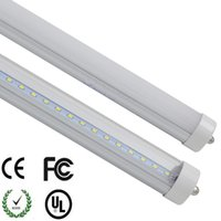 Wholesale T8 38w Lamp - T8 FA8 Single Pin LED Tube Lights 8FT 38W 4600Lm SMD 2835 2400MM 8feet LED Fluorescent Tube Lighting Lamps 85-265V USA