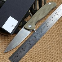 Wholesale Geared Head - Bear Head F3 ball bearing Flipper Tactical folding knife D2 blade G10 steel handle camping hunting outdoors gear survival knives MULTI tool