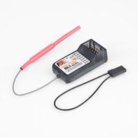 Wholesale Flysky 9ch Receiver - 2pcs lot FlySky FS-R6B FS R6B 2.4G 6CH receiver For RC Transmitter FS CT6B 9ch TH9X TH9B