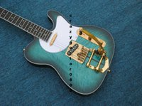 Wholesale Custom Shop Guitar Green - New Arrival Custom Shop Electric Guitar with Tremolo Signature Tuff Dog Excellent Quality, SUPER RARE,Green color Free shipping