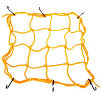 Wholesale Motorcycle Helmet Cargo Net - CS - 098 Motorcycle Luggage Cargo Net Bag Helmet Stretchable Mesh Decorative Storage Carrier with Leather Material Free Shipping