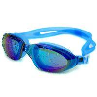 99eb43243745b Nadar Moda Profissional Anti-nevoeiro Óculos À Prova D  Água e Proteção UV  Óculos de Natação HD Ajustável Adulto Crianças Unisex Óculos de Revestimento