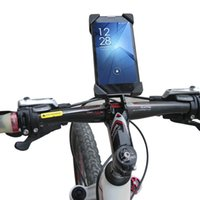 Wholesale Bicycle Handlebar Phone Holder Stand Mount Bracket For iphone s plus Samsung Galaxy HTC Universal Mobile Phone inch
