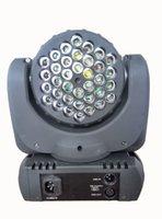 Wholesale 15 Led Moving - (8 pieces lot) led moving head mobil light beam 36x3w rgb led mini dmx beam moving head light with dmx 11 15 Channels