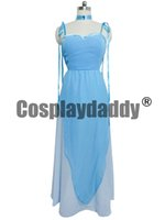 Wholesale Anime Cosplay Gowns - Sailor Moon Sailor Mercury Cosplay Blue Gown Dress H008