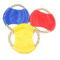 Wholesale Large Frisbee Disc - Pet toys Dog toy Frisbee Flying Disc Tooth Resistant Outdoor Large Dog Training Fetch Toy WA0800