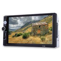 bluetooth hd dvd oynatıcı toptan satış-Araba Radyo 7010B 2 Din 7 '' HD Dokunmatik Ekran Bluetooth Stereo Radyo FM / MP3 / MP4 / Ses / Video / USB Oto Elektroniği Dash MP5 Çalar