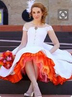 Wholesale rainbow petticoats for sale - Group buy Rainbow Ball Gown Retro Petticoats Colour Choose Factory Handmade S Plus Size Petticoats For Wedding Dress Party Knee Length Petticoats
