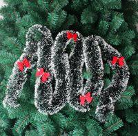 Wholesale Merry Christmas Ribbon - pine garland merry christmas christmas tree decoration strip decoration garland Christmas ribbon Christmas decoration free shipping CR002