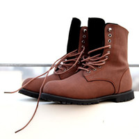 Wholesale Great Leather - New Arrival Fashion Men's Great Quality Cheap Shoes Brand High Leather Casual Boots Hot Sale Free Shipping