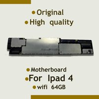 Wholesale Chip 64gb - Wholesale-For Ipad 4 Motherboard Mainboard WiFi Version & Original & Unlocked,100% quality 64GB install IOS System With Full Chips