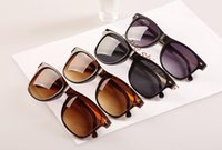 Wholesale Cat Eye Sunglasses Cheap Wholesale - Fashion Cheap Brand Metal Frame Unisex Sunglasses Men Women designer Sunglasses Full Frame sunglasses for women Sun Glass
