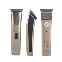 Wholesale Men Barber Clippers - Kemei KM-5017 Hair Trimmer Rechargeable Electric Hair Clipper Waterproof High Power for Men Baby Children Hair Clipper Barber Cutting0604055