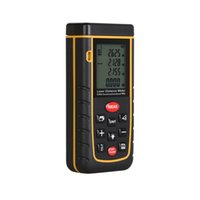 Wholesale Ft Range - Wholesale-Laser distance meter 40m RZA40 Bubble level tool Rangefinder Range finder Tape distance measurer Area Volume M in Ft