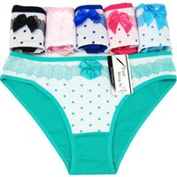Wholesale Young Girls Stocking - #89102 Yun Meng Ni Ladies Underwear Sexy Young Girl Ladies Briefs Breathable Cotton Women's Panties Stock Women Underwear