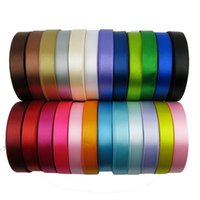 Wholesale Wholesale Polyester Webbing - 1cm 2cm Cloth Polyester fiber Ribbon Garment Accessory Plain Knitted Ribbon Webbing for Bag Sewing Shoelace Multi Color OptionalOptiona