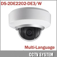 Wholesale Wifi Dome Camera Ptz - HIKVISION DS-2DE2202-DE3 W PTZ 2MP 1080P POE WIFI Dome Onvif HD IP Camera Zoom
