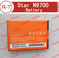 Wholesale Star Phone Batteries - atteries Mobile Phone Batteries Star N9700 Battery High Quality 100% Original 2500mAh Li-ion Battery Replacement For Star N9700 Smart pho...