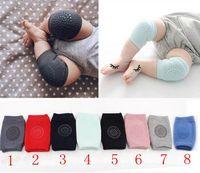 ingrosso ginocchiera di sicurezza per bambini-Baby Knee Pads Crawling Cartoon Sicurezza Cotone Protector Bambini Kneecaps Kneepad Scaldamuscoli Crawling Gomito Cuscino