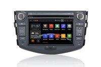 Wholesale Pc Dash Screen - Android Car DVD PC for toyota RAV4 With GPS, Bluetooth, Radio, FM, AM, RDS, MP3, MP4, DVD, SD, USB, wheel control