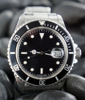 Wholesale Free Dive Watch - Free shipping hot sale luxury watch automatic men's watches stainless steel dive watch auto date R01