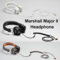 netbook bluetooth toptan satış-Marshall Major II Mic ile Bluetooth Kulaklıklar Derin Bas DJ Hifi Kulaklık Profesyonel Stüdyo Monitör Gürültü Iptal Spor Kulaklık