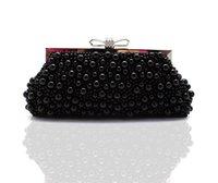 hochzeiten taschen großhandel-Frauen Handtaschen für Hochzeiten Perlen Abendtasche Kristall Clutch Abendtaschen Luxus Damen Clutch Bag HQB1715