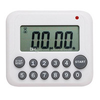 Conte Simple Timer digitale Ampio display LCD da cucina Cooking Giù Su Orologio 99 Minute Allarme Lemonstore E00601 OSTH