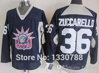 Wholesale Liberty Cotton - 2016 Mens NY Rangers Mats Zuccarello Liberty Logo Navy Blue Practice Alternate Stitched New York Rangers Cheap Hockey Jersey