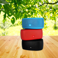 Wholesale mp3 player power supply for sale - Group buy K3 private mobile power supply bluetooth speakers The fashion of high end gift Outdoor bluetooth stereo For samsung HTC iphone