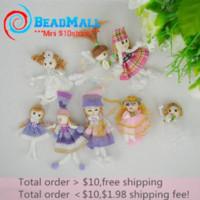 Wholesale Wholesale Order Fashion Dolls - Min order $10 Newest 24pcs lot mix size mix colors Beautiful Girls toy Fashion Doll Classic Dolls Fashion Doll baby toy