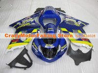 Wholesale Gsxr Movistar Fairing - 3 gifts Fairing For SUZUKI GSXR600 GSXR750 01-03 GSXR 600 750 GSX R600 R750 K1 01 02 03 2001 2002 2003 GSXR-600 Fairing Kit loves movistar