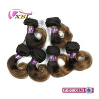 Wholesale Cheaper Weave Hair - xblhair short human hair extensions ombre human hair bundle virgin cheaper brazilian color human hair weave