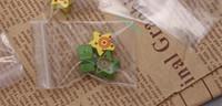 pequenas bolsas de plástico para zíper venda por atacado-6 * 9 cm tamanho pequeno PE saco poli, 500 pçs / lote transparente de espessura zip lock jóias embalagem sacos de plástico, resealable auto-selado bolsa com zíper