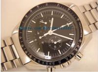 """Wholesale New Models Men Bracelets - Luxury Watches Stainless Steel Bracelet Professional """"Moon"""" Watch - 3570.50 Recent model! 40mm MAN WATCH Wristwatch"""