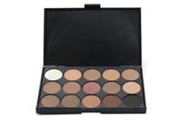 paletas de sombras verdes venda por atacado-Maquiagem EyeShadow Palette 15 cores Eye Shadow DHL Frete grátis 50 pçs / lote nova chegada