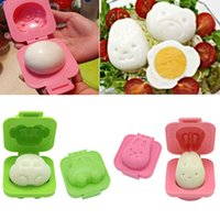 Wholesale Bento Tools Wholesale - Baby Rice Mold Vogue Boiled Egg Rice Mold Bento Maker Sandwich Cutter Kitchen Tools Free Shipping