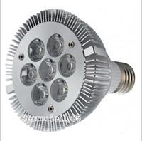 Wholesale Par Led Watts - Dimmable PAR30 LED Spotight 21 Watts led par30 lamps par 30 bulb 7X3W AC110V LED PAR30 Lights CE UL RoHs