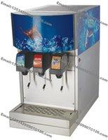 Wholesale Commercial Dispenser - Free Shipping Commercial Countertop 110v 60Hz 220v 50Hz Electric 3 Flavor Drink Beverage Soda Fountain Dispenser System Machine