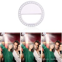 Wholesale Wholesale Droid Phones - LED Selfie Ring Light for iPhone5 6s 6plus 7 7plus,Samsung Galaxy,Blackberry Bold Touch, Sony Xperia, Motorola Droid and Other Smart Phones