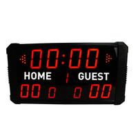 антикварный декор в деревенском стиле оптовых-[GANXIN]GI11T - (3+2.3)R LED баскетбол/ футбол табло мульти-Спорт крытый беспроводной пульт дистанционного многофункциональный ультра Морден электронный дисплей