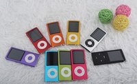 Wholesale Mp4 Player 5th - Slim 5th Generation 8GB 2.2 inch mp4 Player with Camera, FM Radio Video Music 20pcs lot DHL Free Shipping Wholesale