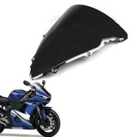 Wholesale R6 Double Bubble - New ABS Double Bubble Windscreen Windshield Shield for Yamaha YZF R6 2003 2004 2005