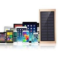 Wholesale Power Pack Solar Charger - Wholesale- Solar Charging Panel Battery Charger Dual USB Port Power Bank DIY Assembly Set Solar Panel Case Charger Bateria Externa Pack