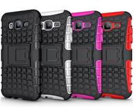 Wholesale Plastic Flim - Armor Heavy Duty Case Protective Skin+Flim For Samsung Galaxy Grand Prime G530 G530H G530M G530FZ G5308 W S920C